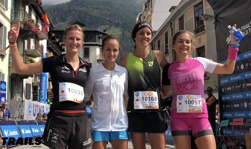 UTMB 2018 - CCC - podium dames - Fred Bousseau