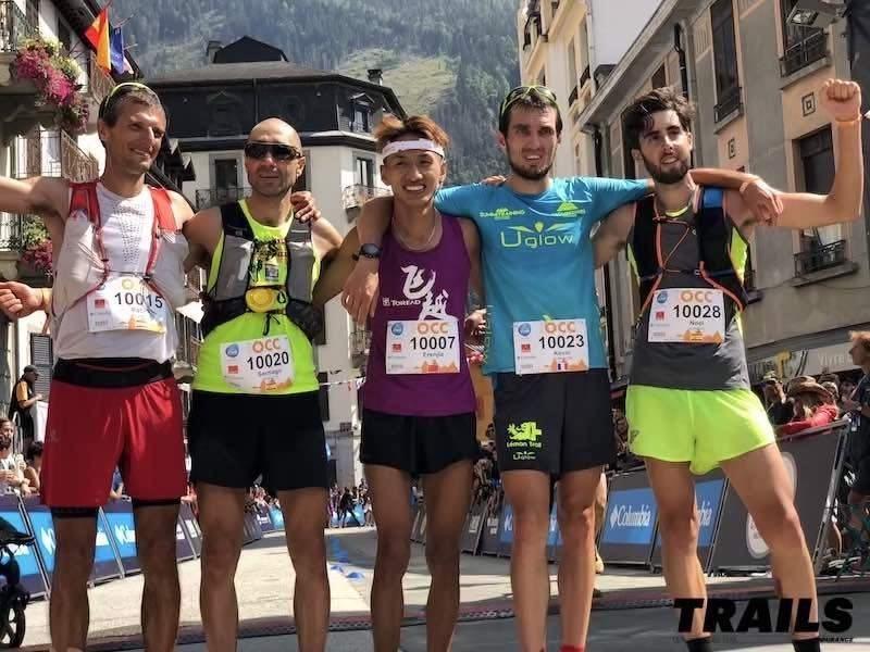 UTMB 2018 - CCC - podium hommes - Fred Bousseau