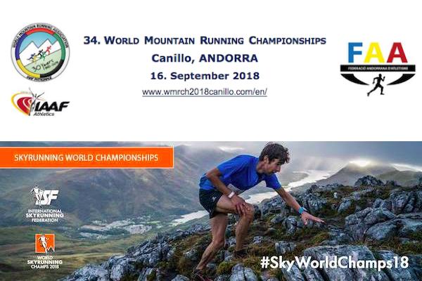 Mondiaux de Skyrunning et de course en montagne 2018