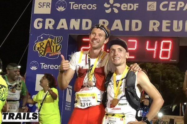 Grand Raid Réunion 2018 - François D'Haene et Benoit Girondel