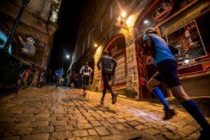 Lyon Urban Trail by night 2018