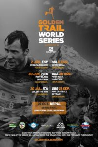 Affiche Golden Trail World Series 2019