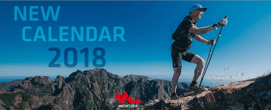 Calendrier Ultra Trail World Tour 2018