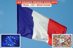 Championnats de France 2019, Trail, montagne et KV
