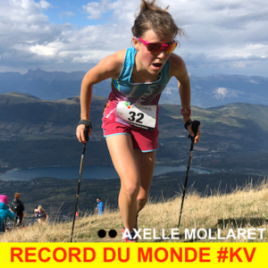 Record du Monde du KV, 2018 Axelle Mollaret 34'36