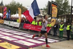 Sébastien Spehler vainqueur du marathon du Beaujolais