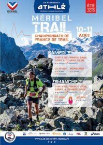 affiche Championnats de france de trail 2019