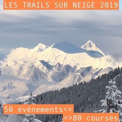 Calendrier des Trails Blancs 2019
