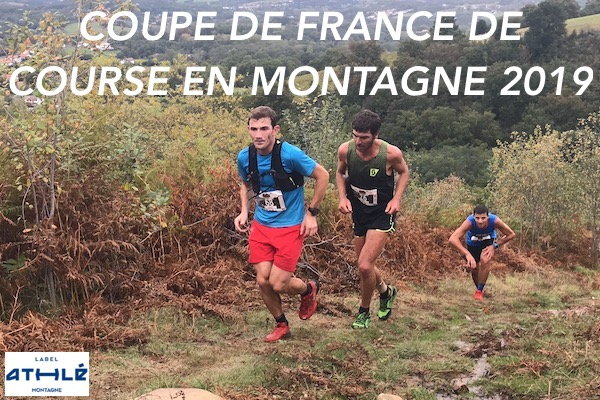 COUPE DE FRANCE DE COURSE EN MONTAGNE 2019