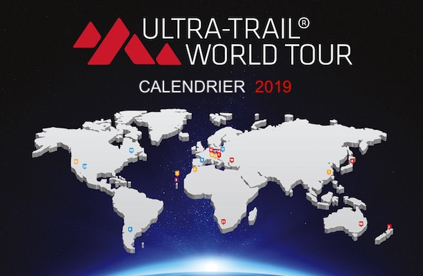Calendrier Ultra Trail World Tour 2019