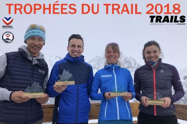 Laureats Trophées du Trail 2018