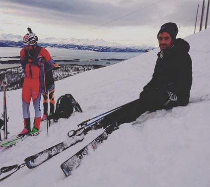 Record à Ski KIlian Jornet 23 486m - ©Suunto
