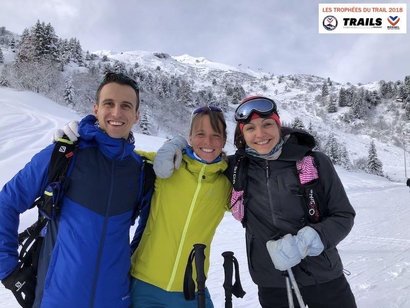 TROPHÉES DU TRAIL 2018 - Sebastien Spehler, Audreu Tanguy et Claire Mougel