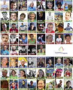 71 athlètes engagés dans le programme QUARTZ Élite