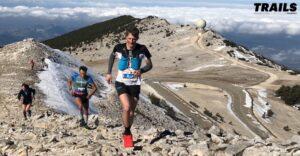 Ergysport Trail du ventoux 2019 - tête de course