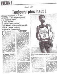 Philippe Delachenal 24h de D+ à Val d'Isère