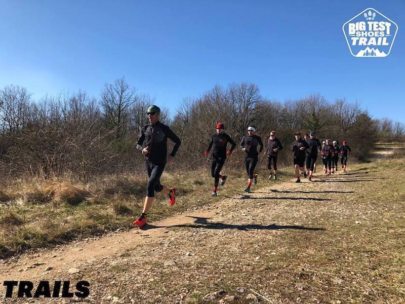 Team Big test shoes trail 2019