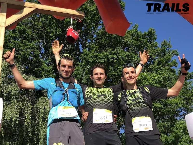 Podium hommes Marathon Race 2019
