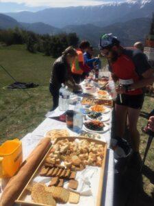 Jacques Vince - Trail Drôme 19 - ravitaillement