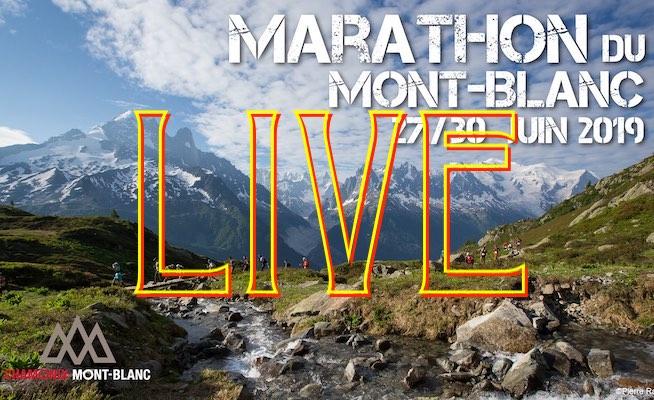 LIVE - Marathon du Mont-Blanc 2019