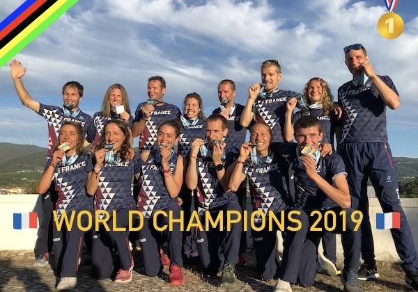 La France Championne du Monde de Trail par équipe 2019 - Fred Bousseau