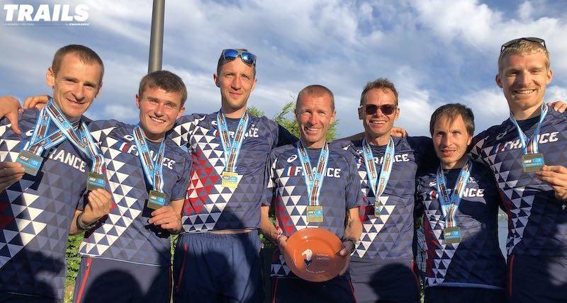 Mondiaux de Trail 2019 - équipe homme World Champion - Fred Bousseau