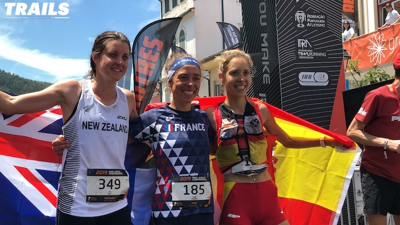 Mondiaux de Trail 2019 - podium dames World Championships - Fred Bousseau