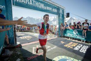 Davide_Magnini vainqueur du Marathon du Mont-Blanc 2019 - Fabian Bodet