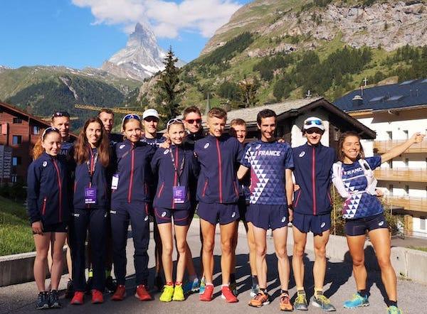 equipe de France de course en montagne 2019