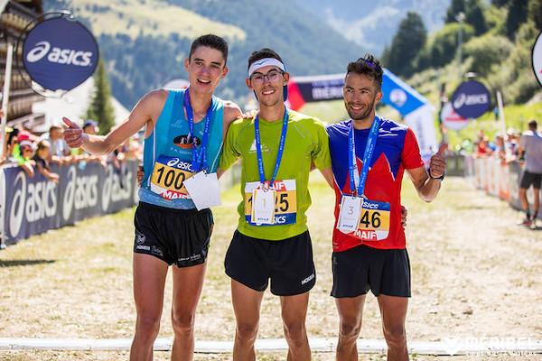 Podium Championnat de France de Trail court 2019