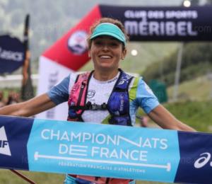 Sarah Vieuille - Championnats de France de Trail long 2019-Thierry Guillot