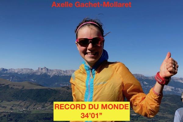 Record du Monde du KV 2019 - Axelle Gachet Mollaret - Fred Bousseau