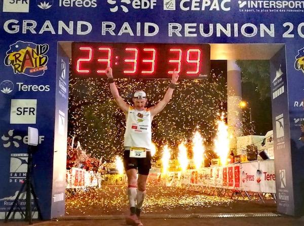 Gregoir Curmer vainqueur du Grand Raid de La Reunion 2019