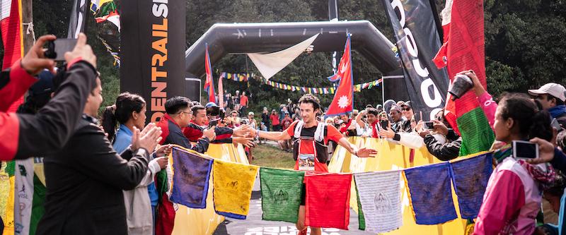 Kilian Jornet vainqueur annapurna Marathon 2019