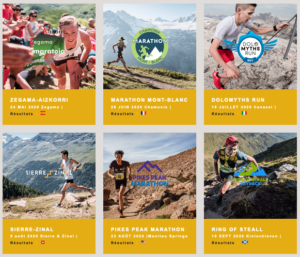 6 courses golden Trail World Series 2020