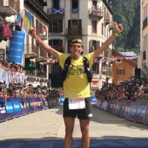 Pau Capell vainqueur de l'UTMB 2019