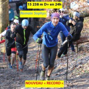 15 238 m D+ en 24h pour R. Sophys 2019