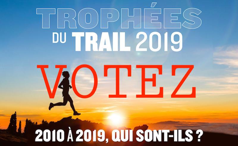 VOTEZ POUR LES TROPHÉES DU TRAIL 2019