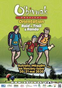 Affiche Festival O'Bivwak 2020 - Trails Endurance Mag