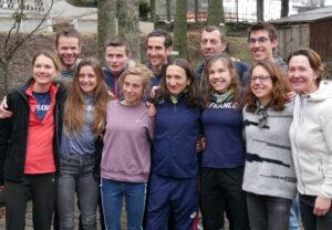 Equipe de France de Trail et de montagne dans le Cantal