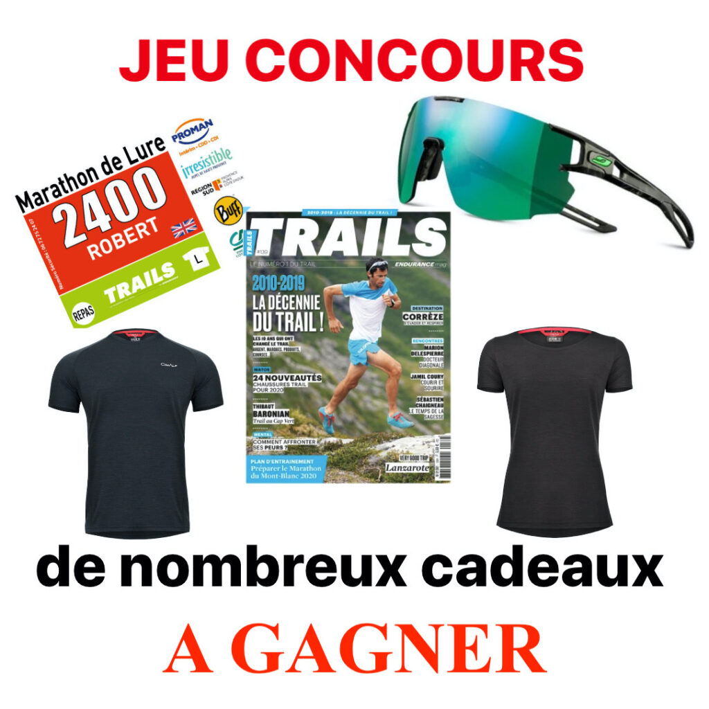 JEU Big Test Shoes Trail 2020