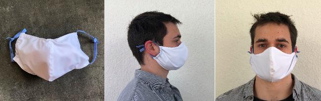 Fabrication de masques par Ultimum sport