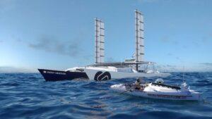 Stephane Brogniart rencontre le bateau Energy Observer