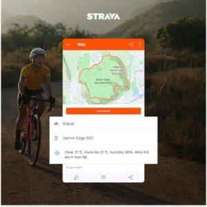 cartes de parcours avec STRAVA