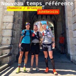 record Chamonix - Briançon 2020- M. Kern, G. Curmer et B. Robin