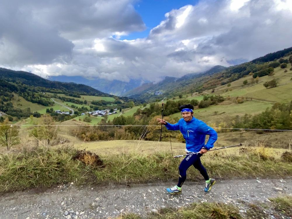 Dawa Sherpa - EDF trails vallée aigueblanche 2020