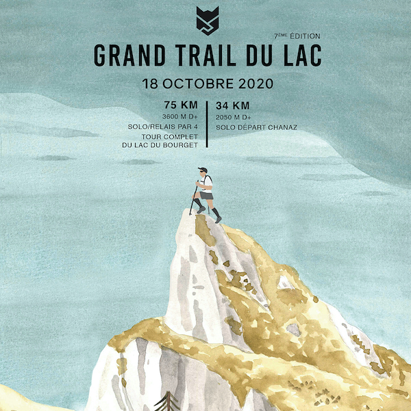 Grand Trail du Lac 2020 - Affiche 2020