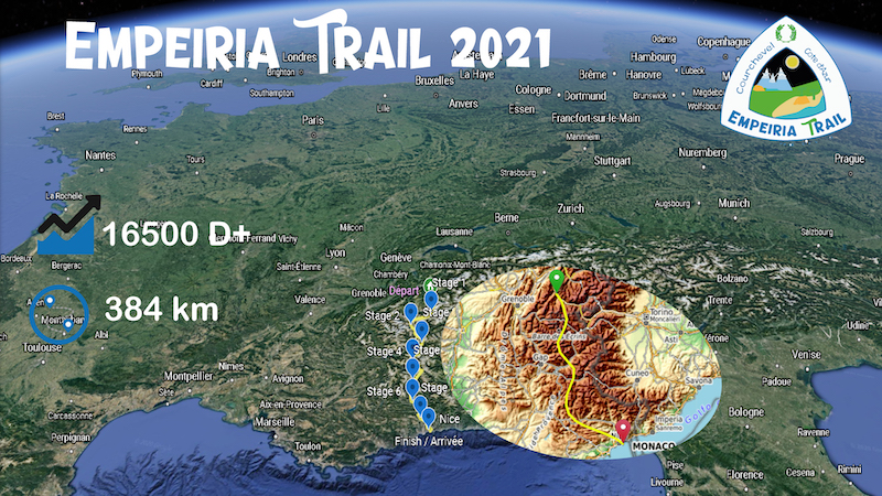 Parcours Empeiria Trail