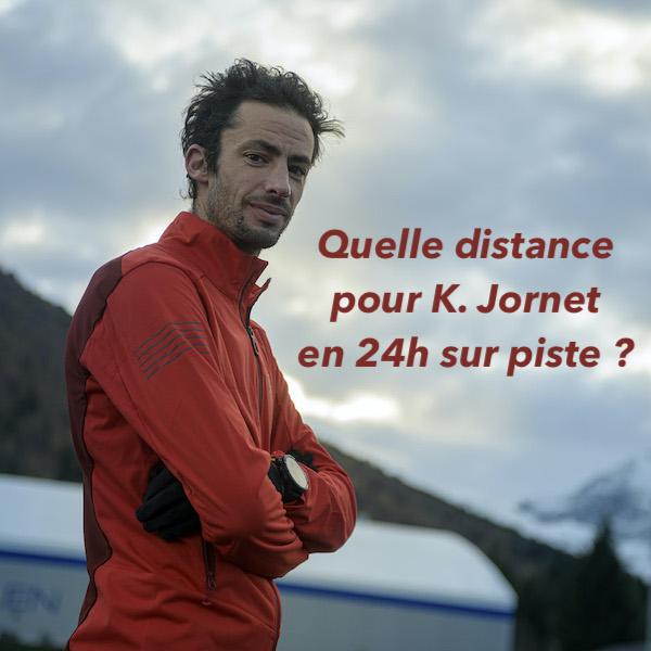 Quelle distance pour K. Jornet en 24h sur piste ?