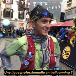X. Thévenard + ligue pro de Trail running